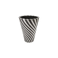 Phillips Collection Turbo Planter, Aluminum and Black