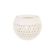 Phillips Collection Breathe Planter, Gel Coat White
