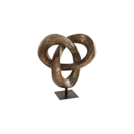 Phillips Collection Trifoil Sculpture, Bronze