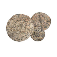 Phillips Collection Metal Lotus Wall Art, Assorted Colors