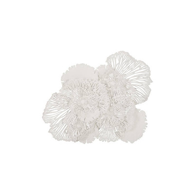 Phillips Collection Flower Wall Art White, LG