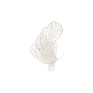Phillips Collection Butterfly Wall Art, White, SM