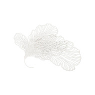 Phillips Collection Butterfly Wall Art, White, LG