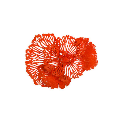 Phillips Collection Flower Wall Art, Coral, SM