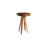 Phillips Collection Smoothed Bar Table, Chamcha Wood, Natural, Round