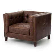 Four Hands Abbott Club Chair - Cigar