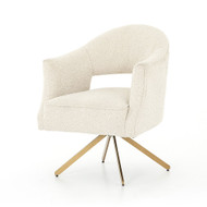 Four Hands Adara Desk Chair - Knoll Natural
