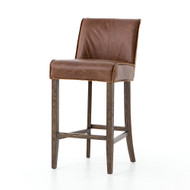 Four Hands Aria Bar Stool - Sienna Chestnut