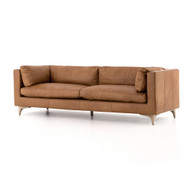 "Four Hands Beckwith Sofa - 94"" - Naphina Camel"