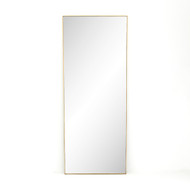 Four Hands Bellvue Floor Mirror - Polished Brass