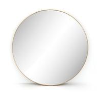 Four Hands Bellvue Round Mirror - Polished Brass
