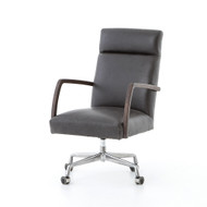 Four Hands Bryson Desk Chair - Chaps Ebony