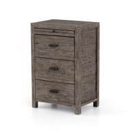 Four Hands Caminito Nightstand - Rustic Black Olive
