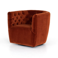 Four Hands Hanover Tufted Swivel Chair