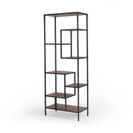 "Four Hands Helena Bookshelf - 83"" - Ant Blch Seal/Wax B"
