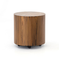 Four Hands Hudson Round End Table