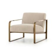 Four Hands Jules Chair - Stonewash Print Ecru