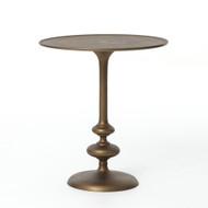 Four Hands Marlow Matchstick Pedestal Table - Matte B