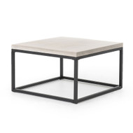 "Four Hands Maximus 30"" Square Coffee Table"