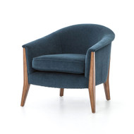 Four Hands Nomad Chair - Plush Azure