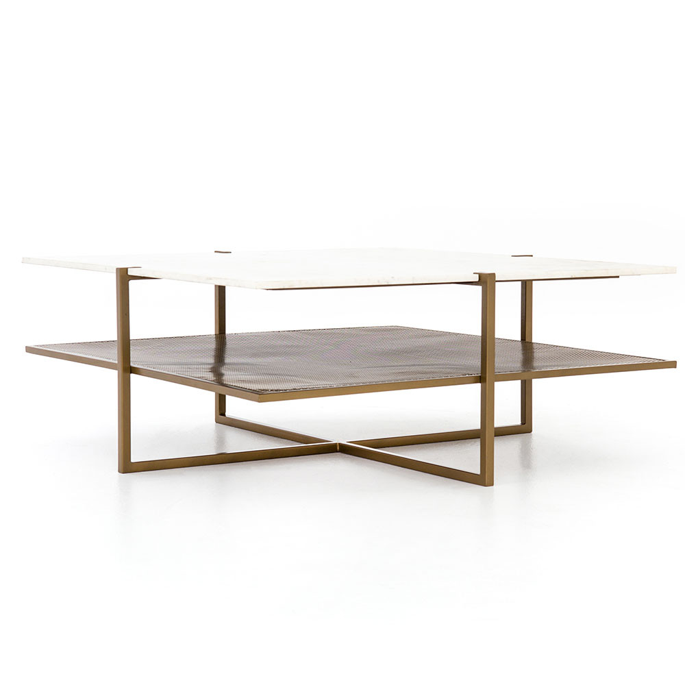Stupendous Four Hands Olivia Square Coffee Table Caraccident5 Cool Chair Designs And Ideas Caraccident5Info
