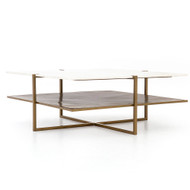 Four Hands Olivia Square Coffee Table