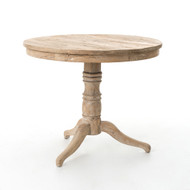 Four Hands Round Occasional Table - Whitewash
