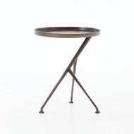 Four Hands Schmidt Accent Table - Antique Rust