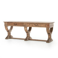 Four Hands Sergio Console Table - Bleached Pine