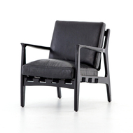 Four Hands Silas Chair - Aged Black