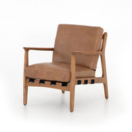 Four Hands Silas Chair - Patina Copper