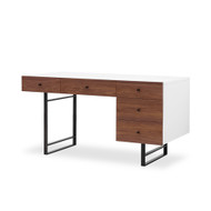 Four Hands Tucker Desk - White