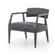 Four Hands Tyler Arm Chair - Chaps Ebony