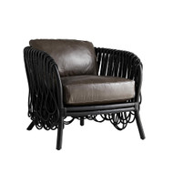 Strata Lounge Chair - Black/Graphite