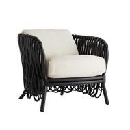 Strata Lounge Chair - Black/White