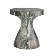 Serafina Small Accent Table - Verde Faux Marble