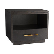 Mallory Side Table - Ebony