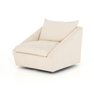 Four Hands Arrow Swivel Chair-Dobie Ecru - Dobie Ecru