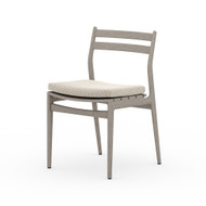 Four Hands Atherton Outdoor Dining Chair - Faye Sand - Weathered Grey