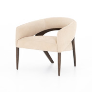 Four Hands Atlas Chair - Nubuck Sand - Sienna Brown