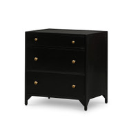 Four Hands Belmont Storage Nightstand - Black
