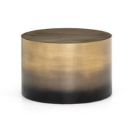 Four Hands Cameron Ombre Bunching Table-Ombre Brass - Ombre Antique Brass