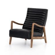 Four Hands Chance Chair - Dakota Black - Distressed Natural