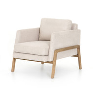 Four Hands Diana Chair - Vail Ecru - Natural