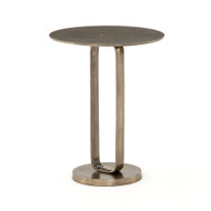 Four Hands Douglas End Table - Aged Bronze