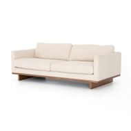 "Four Hands Everly Sofa-84"" - Irving Taupe - Antique Cocoa"