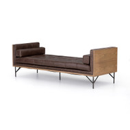 Four Hands Holden Chaise - Sonoma Coco - Toasted Ash - Oxidized Grey