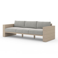 Four Hands Leroy Outdoor Sofa, Washed Brown - Faye Ash - Washed Brown