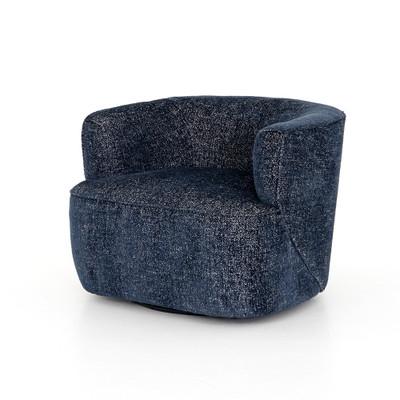 Four Hands Mila Swivel Chair - Comal Azure