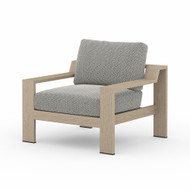 Four Hands Monterey Outdoor Chair - Faye Ash - Washed Brown